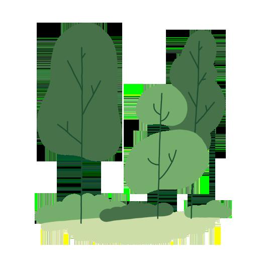 Illustration Bäume